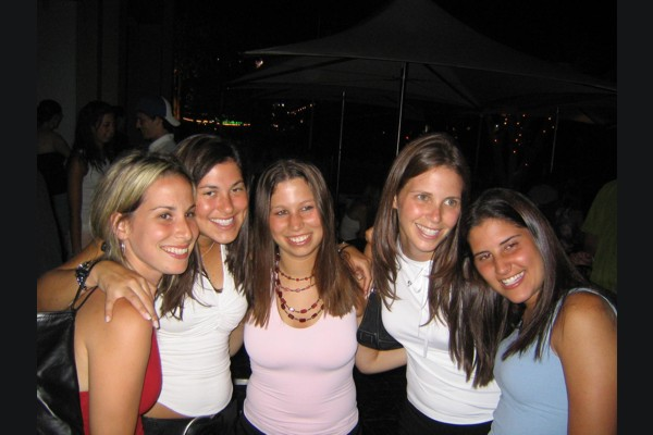 LDM girls @ Dolcezucchero (600Wx400H) - LDM girls @ Dolcezucchero - spring 2004 (photo by Chris)
