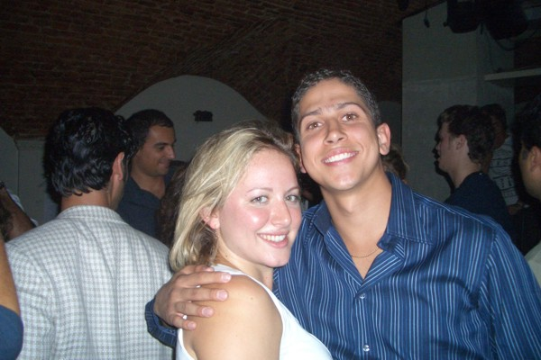Syracuse students (600Wx400H) - Syracuse students @ Dolcezucchero - fall 2004 (photo by Chris)