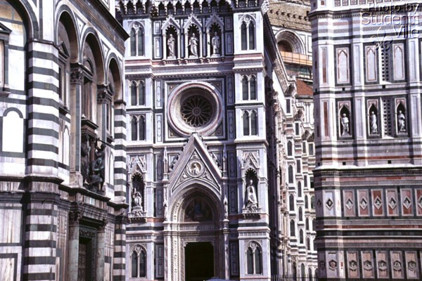 Marble Feast (600Wx400H) - Duomo, Giotto Belltower and Baptistery ... (Photo by Paolo Ramponi)