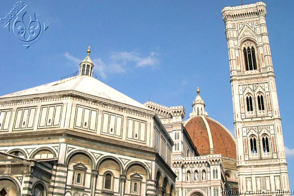 Panorama (600Wx400H) - Amazing point of view over Duomo and Campanile di Giotto