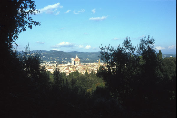 Florence view (600Wx400H) - A view of Florence (Photo by Claudio Cagnola)