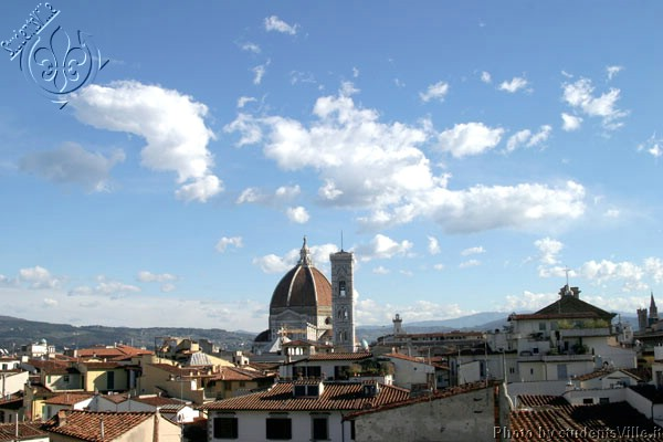 Duomo&Clouds (600Wx400H) - Clouds above Florence in a winter day. (Photo by Marco De La Pierre)