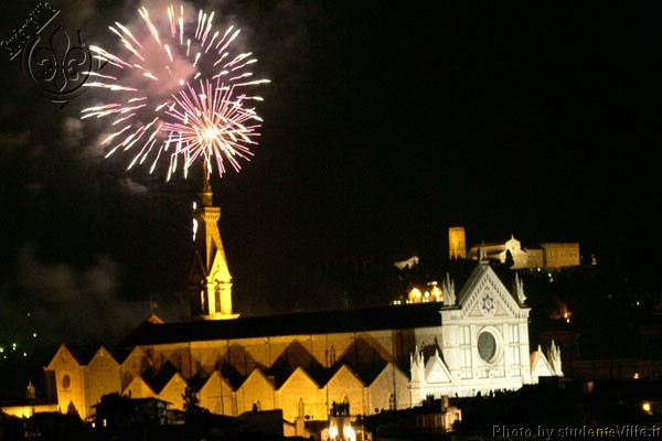 Fireworks (600Wx400H) - Fireworks in Santa Croce, the night of San Giovanni (24th of June)
