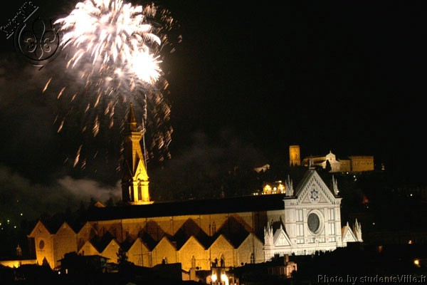 Firework  (600Wx400H) - Fireworks in Florence, the night of San Giovanni (24th of June). (Photo by Marco De La Pierre)