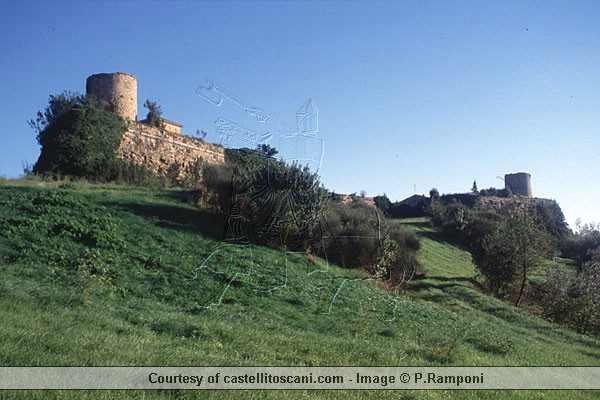 Fortezza Medicea (600Wx400H) - Fortezza Medicea - Lucignano (AR) - Photo Courtesy of castellitoscany.com