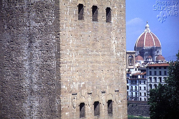 San Niccolo' (600Wx400H) - The powerful San Niccolo' Gate with the Brunelleschi's Dome (Photo by Marco De La Pierre)