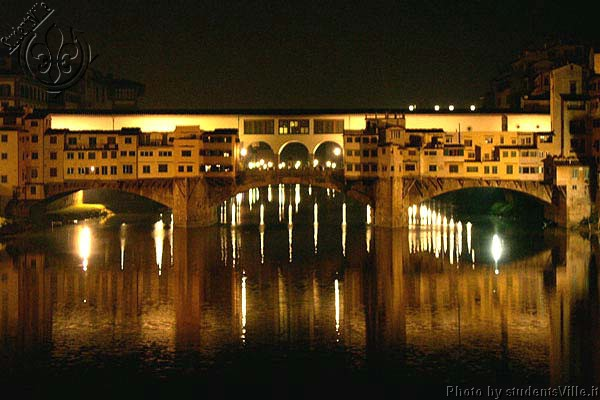 Ponte Vecchio (600Wx400H) - Midspring Night's Dream in Ponte Vecchio...(Photo by Marco De La Pierre)