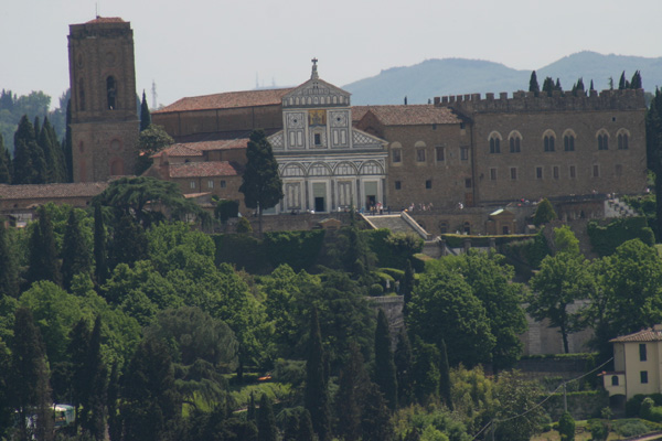 A view from the Duomo (600Wx400H) - San Miniato viewed from the top of the Duomo of Florence. Our zoom is very powerful guys! ;) (Photo by Paolo Ramponi)
