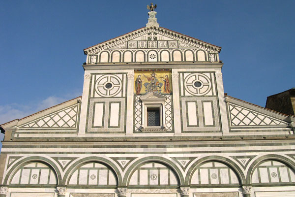 San Miniato (600Wx400H) - The magnificent facade of San Miniato al Monte. Not to be missed!