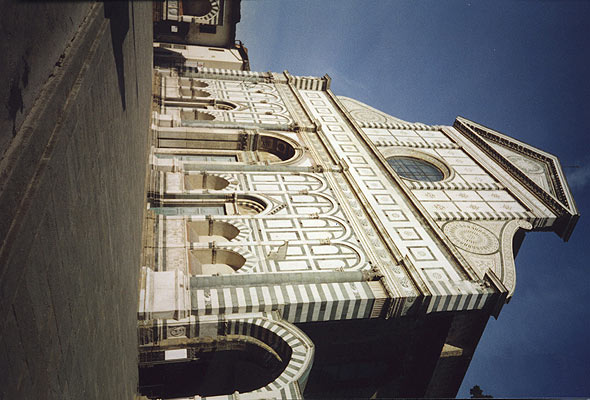 Download facade of Santa Maria Novella (590Wx400H)