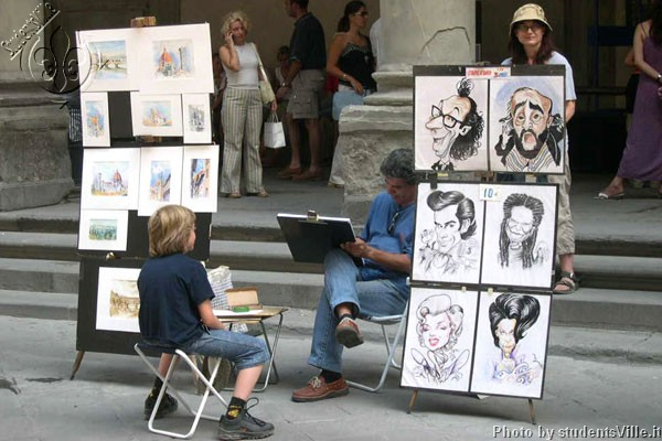 Street painters (600Wx400H) - Street painters at